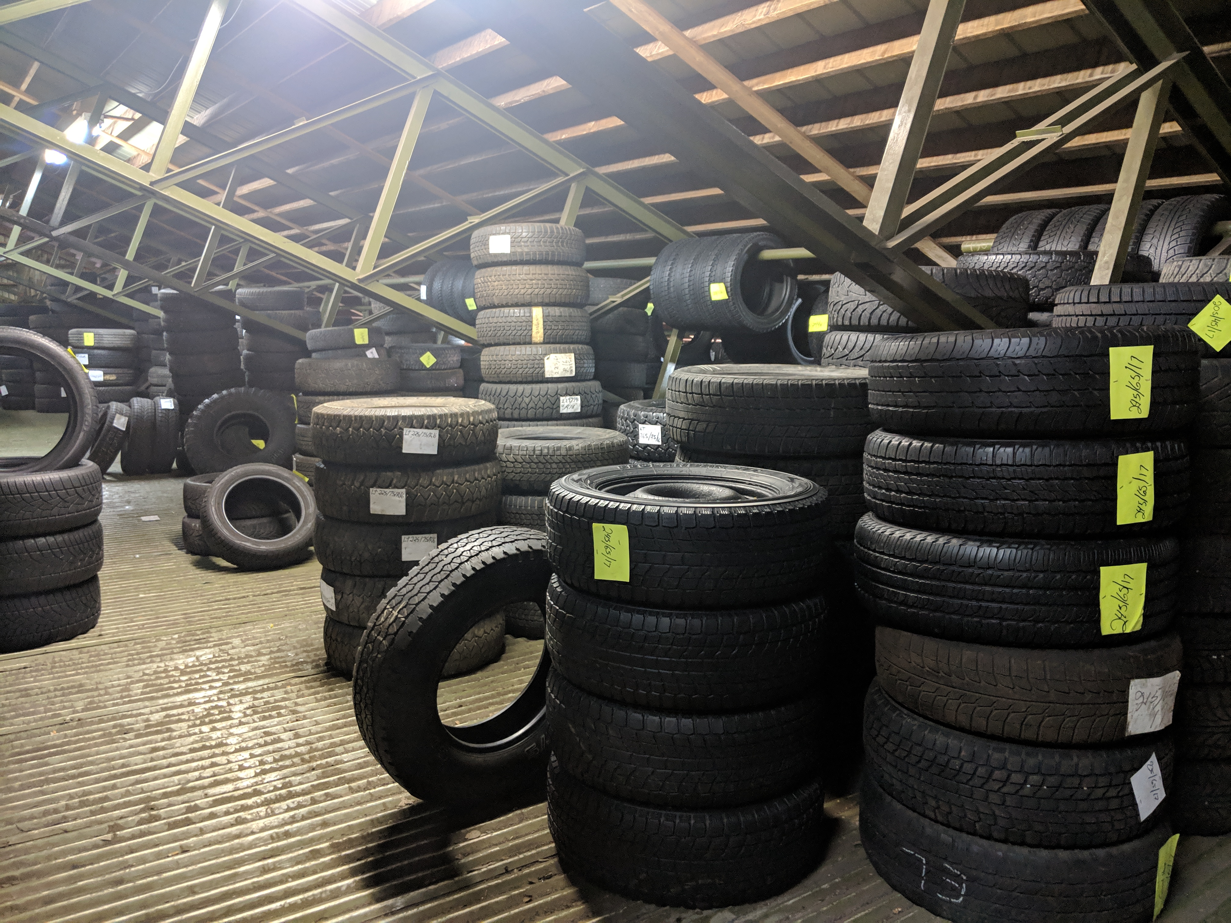 Vente de pneus